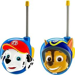 eKids Paw Patrol Chase and Marshall Character 2-Way Radios
