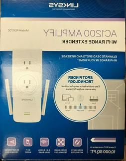 Linksys - RE6700 - AC1200 AMPLIFY Dual-Band Wi-Fi Wall Plug
