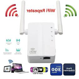 Router Wireless Range Extender Dual Antenna WiFi Repeater Fo