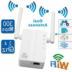 Router Wireless Range Extender WiFi Repeater Dual Antenna Fo