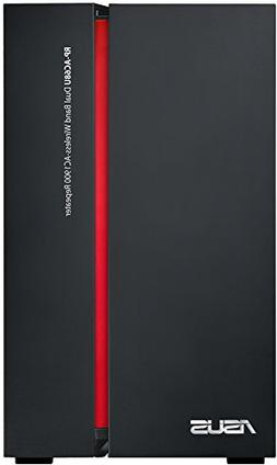 ASUS RP-AC68U Dual-band  Gigabit Ethernet Black, Red