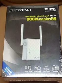 ASUS RP-N12 Wireless-N300 Range Extender / Access Point***80