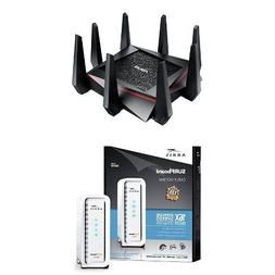 ASUS RT-AC5300 Wireless AC5300 Tri-Band Gigabit Router, AiPr