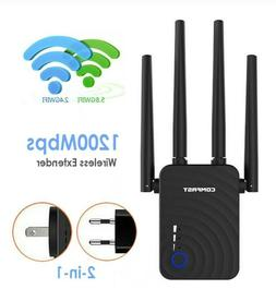 Super Boost Wifi Up To 1200Mbps Wifi Repeater Range Extender