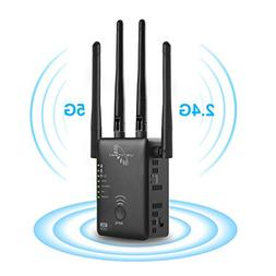 VICTONY 1200Mbps Wireless WiFi Repeater with External Antenn