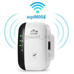 WiFi Blast Wireless Repeater Wi-Fi Range Extender 300Mbps Wi