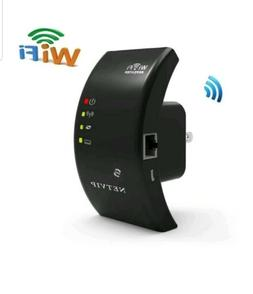 WiFi Extender Long Range Repeater 300Mbps Router Wireless Ac