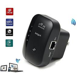 WiFi Extender Booster 300Mbps, Wireless Repeater Portable Bu