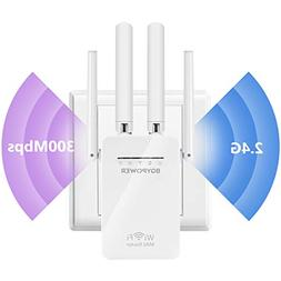 WiFi Extender Wireless Repeater Internet Booster Signal Ampl