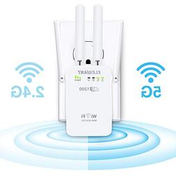 WiFi Range Extender, ELEGIANT AC1200Mbps Wireless WiFi Repea