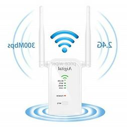 WiFi Range Extender, Aigital 300M Wireless Repeater Network