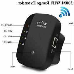 WIFI Repeater Ethernet Port Signal Booster High Speed Office