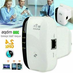 Wifi Repeater Extender Wireless Signal Booster Range 300mbps