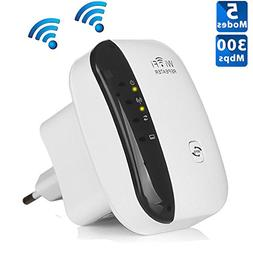 WiFi Repeater - 300Mbps WiFi Extender WiFi Booster to Smart