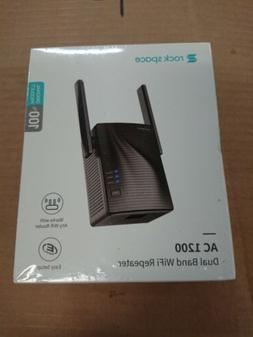 Rock Space WiFi Signal Range Booster Wireless Network Repeat