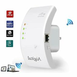 Wireless Range Extender 300Mbps USB WiFi Repeater Router Net