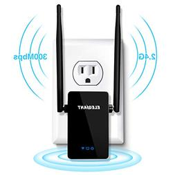 Wireless WiFi Repeater, ELEGIANT 300Mbps WiFi Range Extender